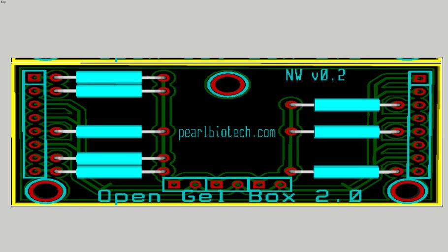 Pearl Transilluminator circuit board