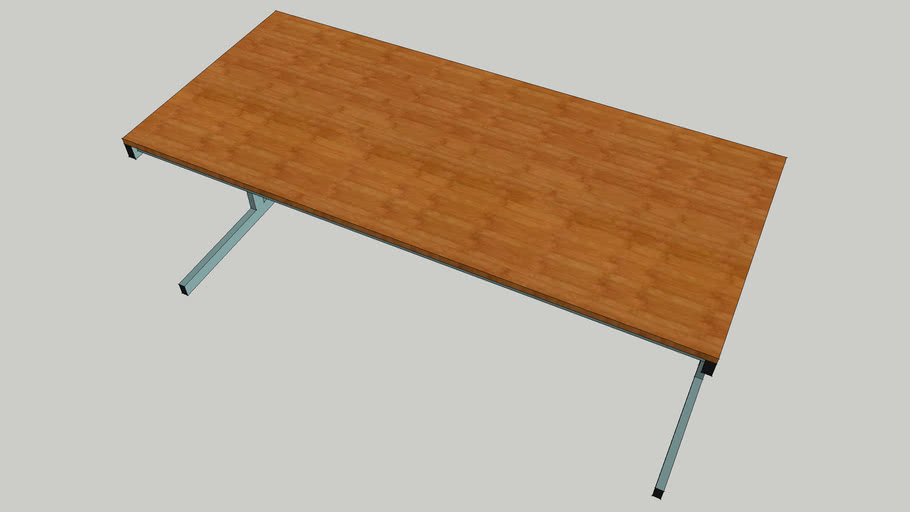 Desk (wood) 1750mm wide