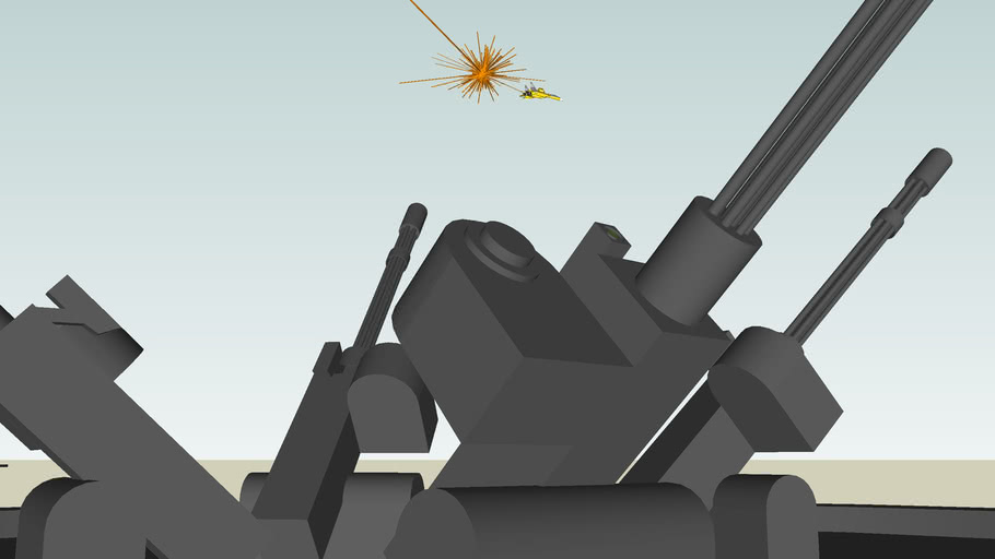 Chaos at Asteroid Planetery Aerial Defense System