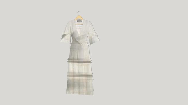 Alexis - Hazelle Guipure Lace Dress