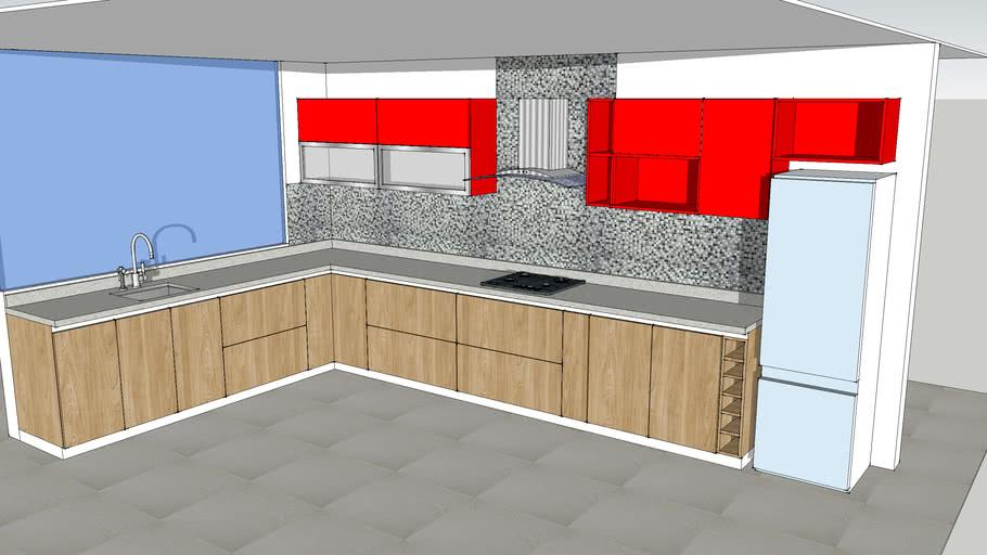 diseño cocina   3D Warehouse