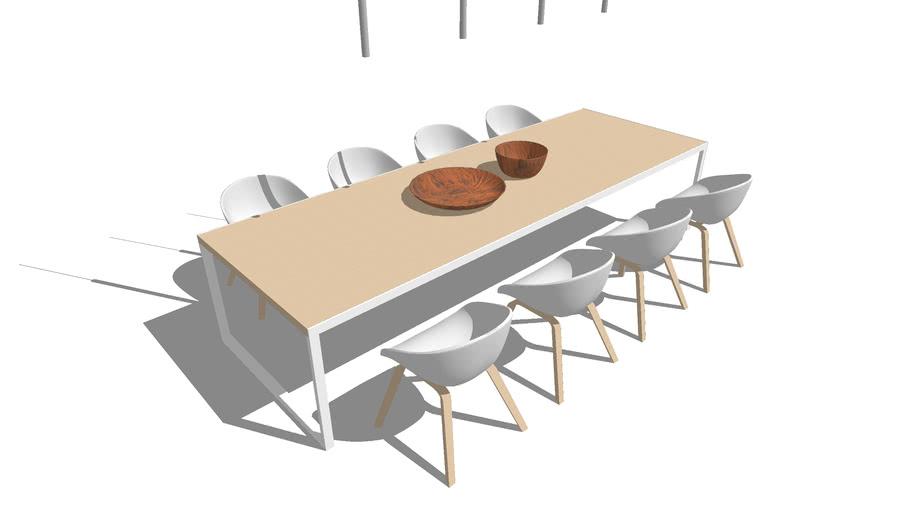 Minimal dining