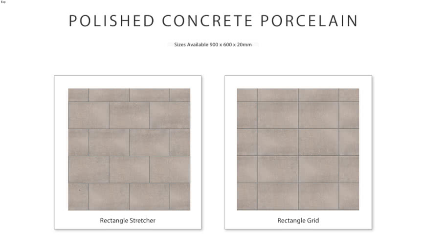 Polished Concrete Porcelain 3d Warehouse