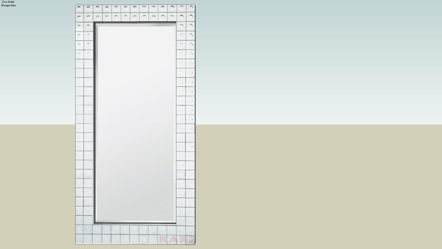 74519 Mirror Bubble 156x78 (Spiegel Bubble 156x78)