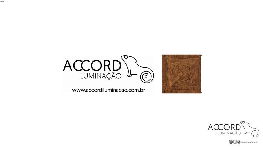 Arandela Accord Facetada 4063