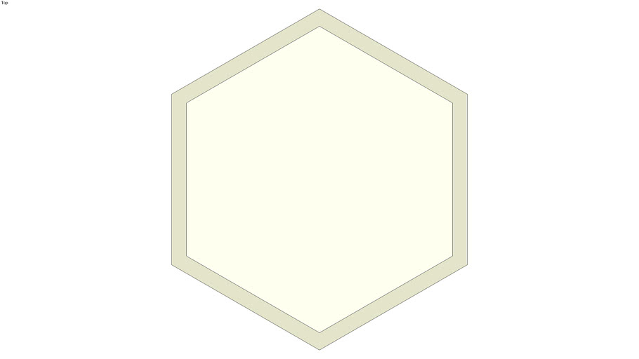 Doorknob octagonal