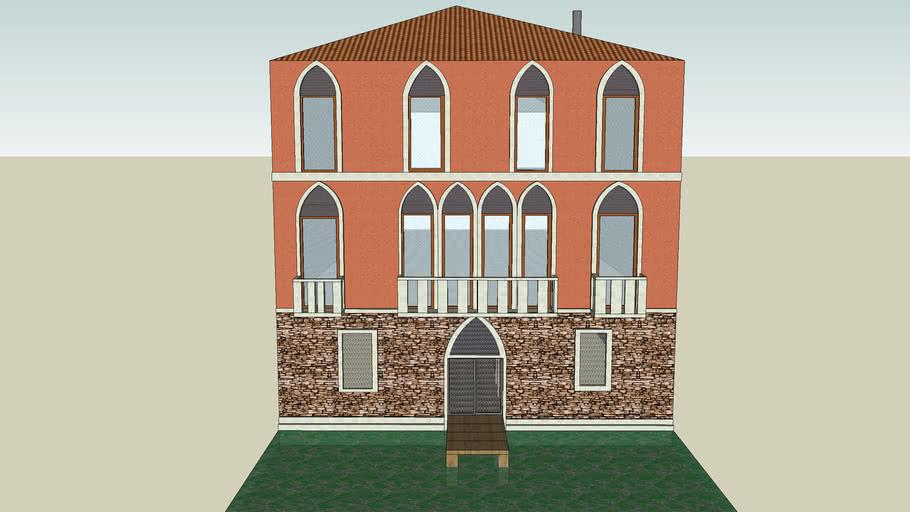 Gothic Venetian Palazzo