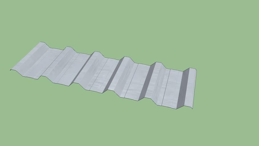 Telha trapezoidal 40/980