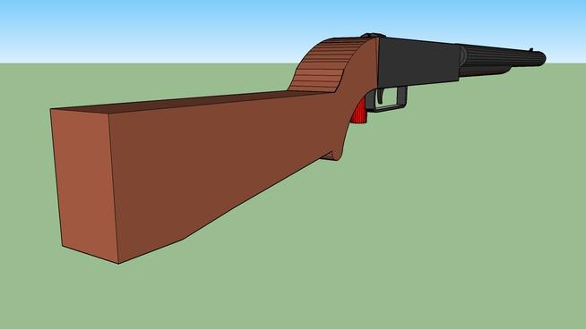 Double Barrell Shotgun