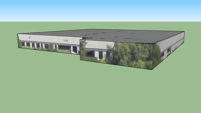 Bâtiment situé San Jose, Californie, États-Unis