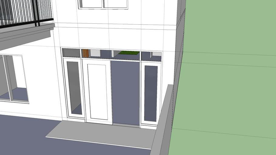 konsep rumah 2 lantai