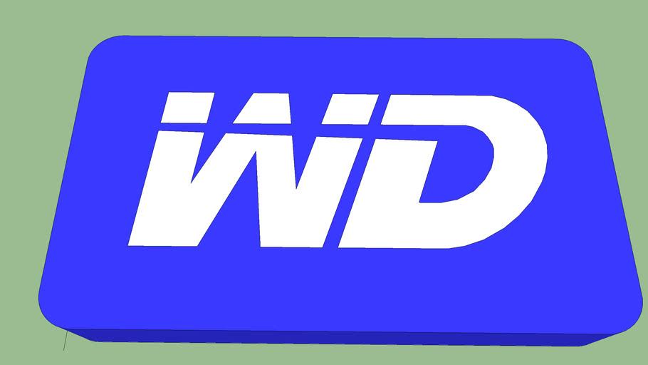 3D WD Logo