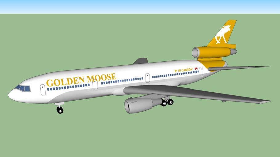 Golden Moose Airways DC-10-10 (1984)