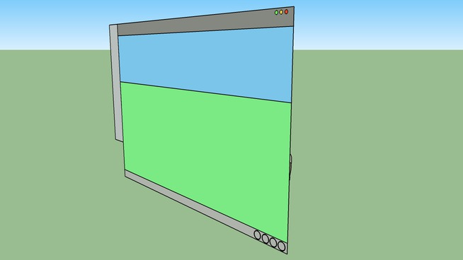 Google SketchUp Interface