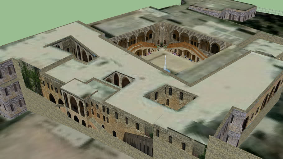 Beit-Eddine Palace (Model 2) - Chouf District - Lebanon