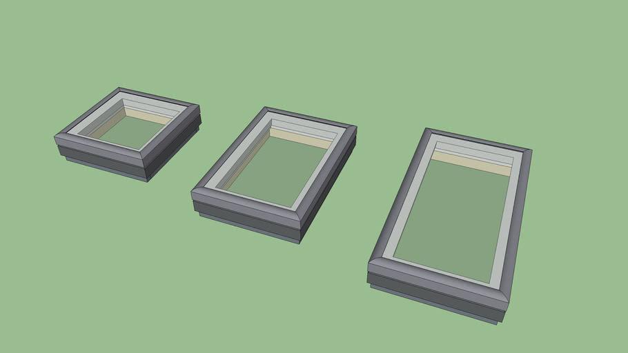 Medeek Skylights (Velux) Low Poly