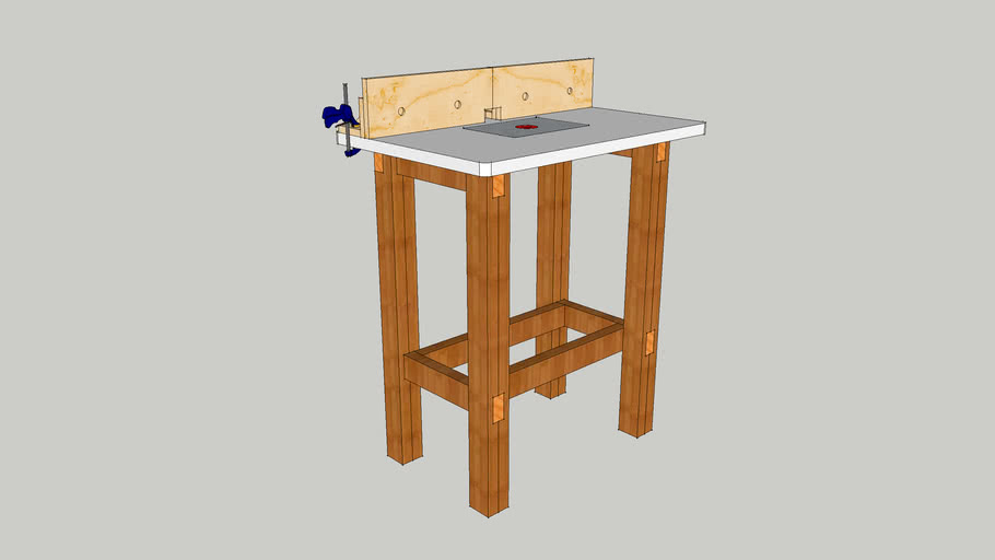 Simple Home Made router Table