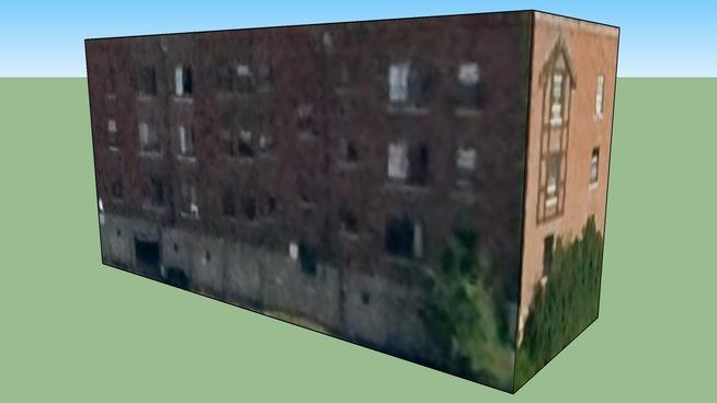 Building in Cincinnati, Ohio, Verenigde Staten