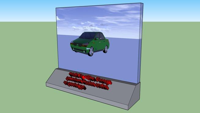 render of blue phang's privatomi sedan