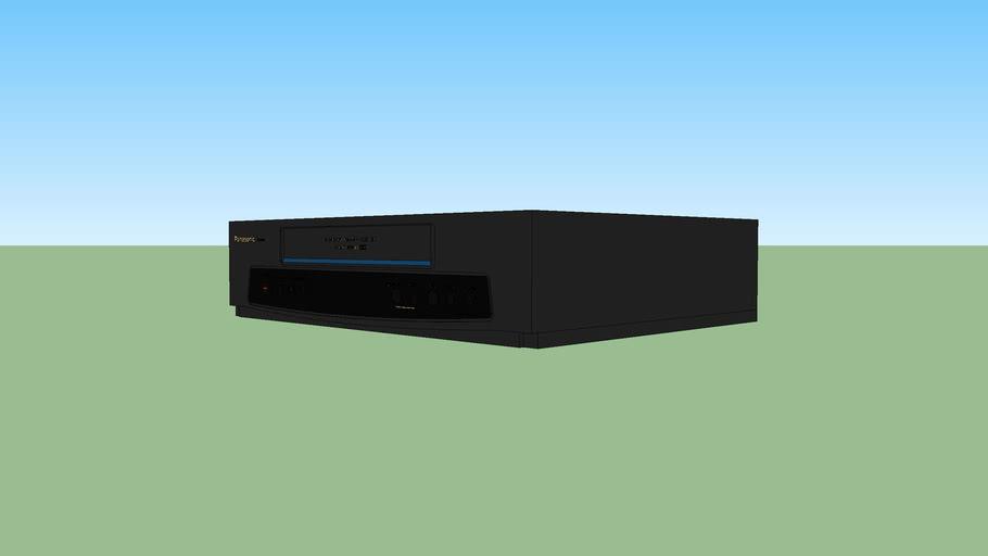 Panasonic VHS VCR (model PV-7450