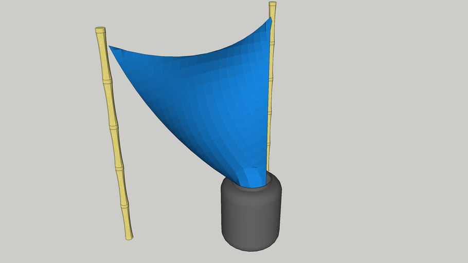 Simple rainwater harvesting system
