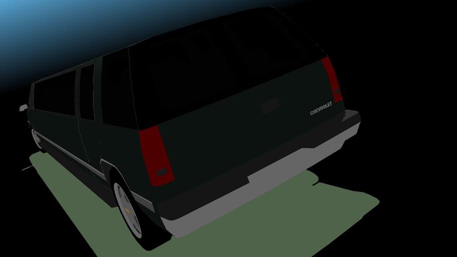 1996 Chevrolet Tahoe Super-Strech Limousine