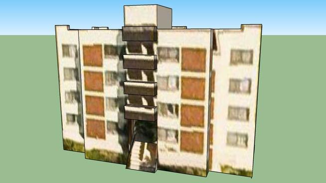Edificio Habitacional Militar 4B en Ciudad de México, D.F., México