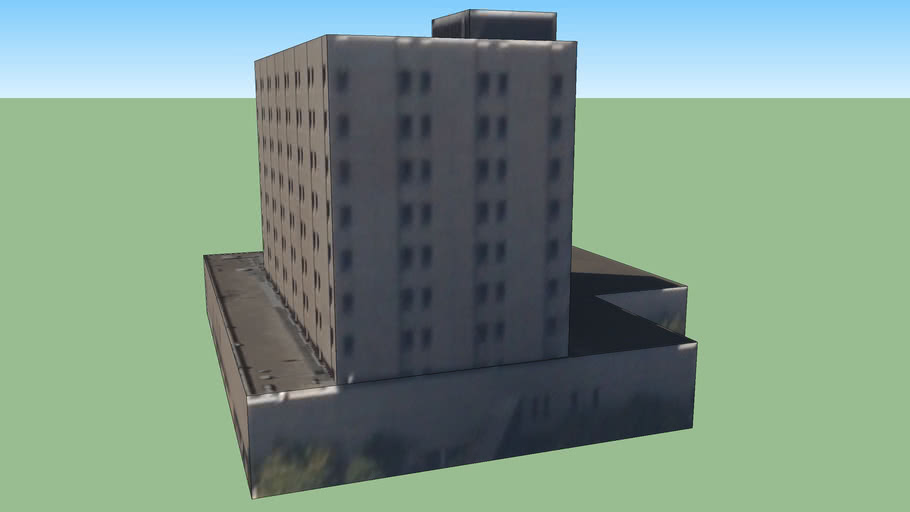 Hospital Building in San Diego, CA, USA