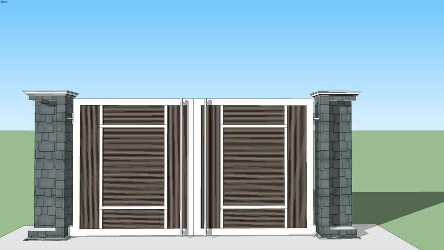Modern gate design