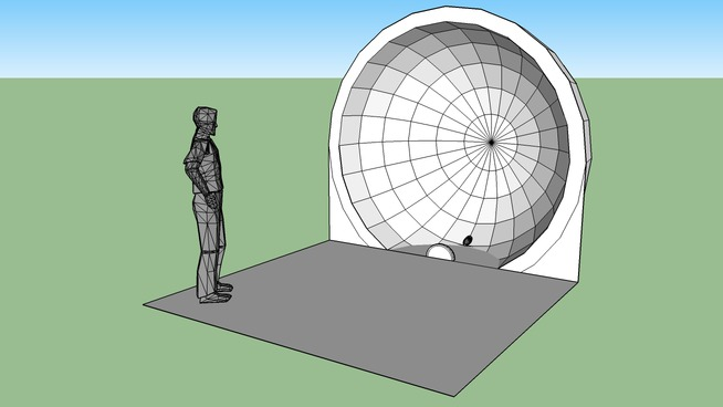 iDome 3m Projection model