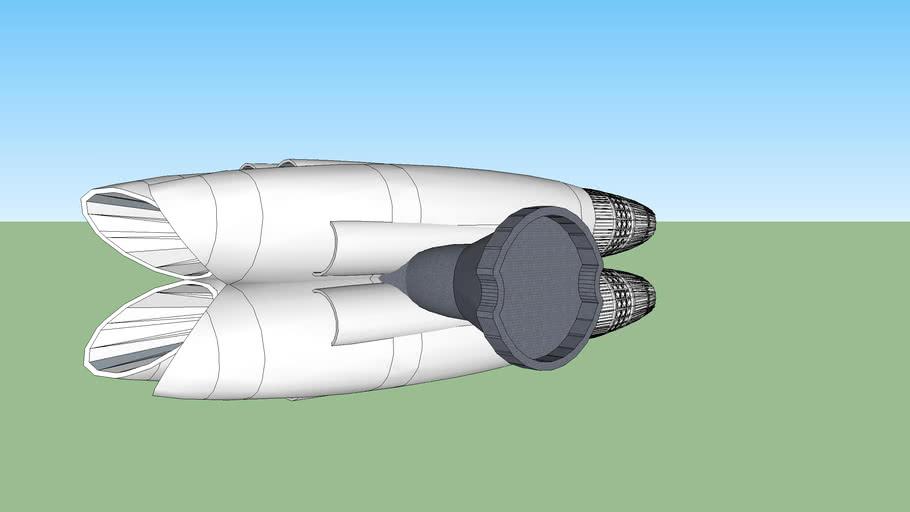 Quad Engine assembly