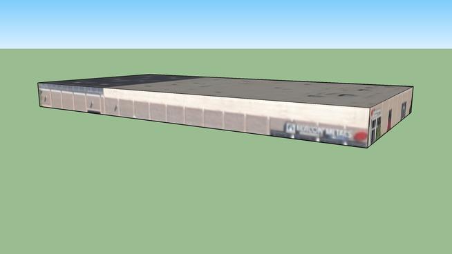 盐湖城, 犹他州, 美国的建筑模型