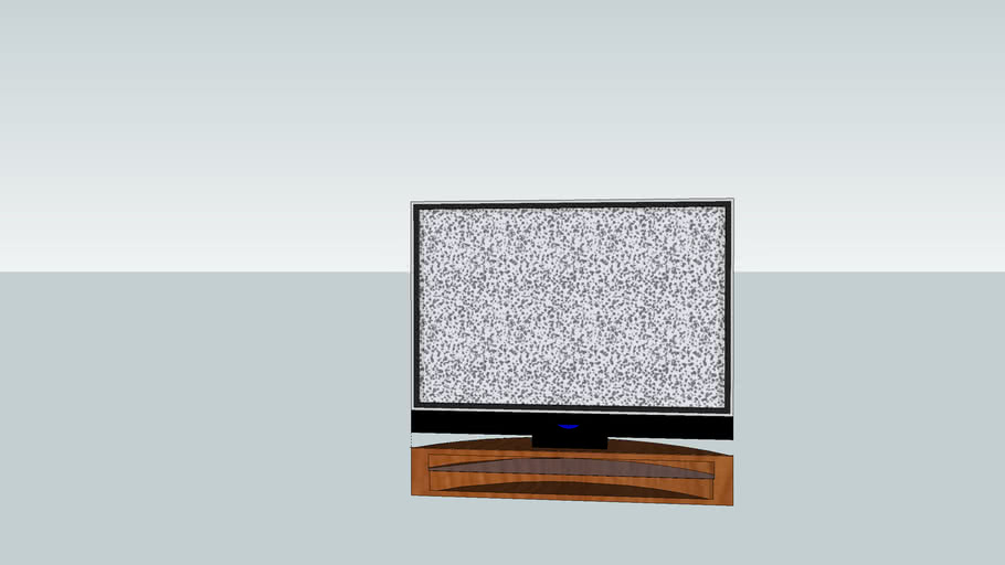 """48""""TV W/ Generic Stand"""