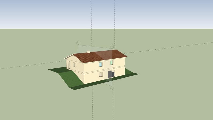 Plan Maison 4 Chambres 3d Warehouse