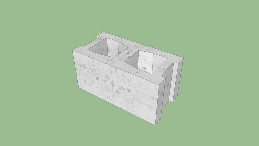"8""x8""x16"" Concrete Foundation Block"