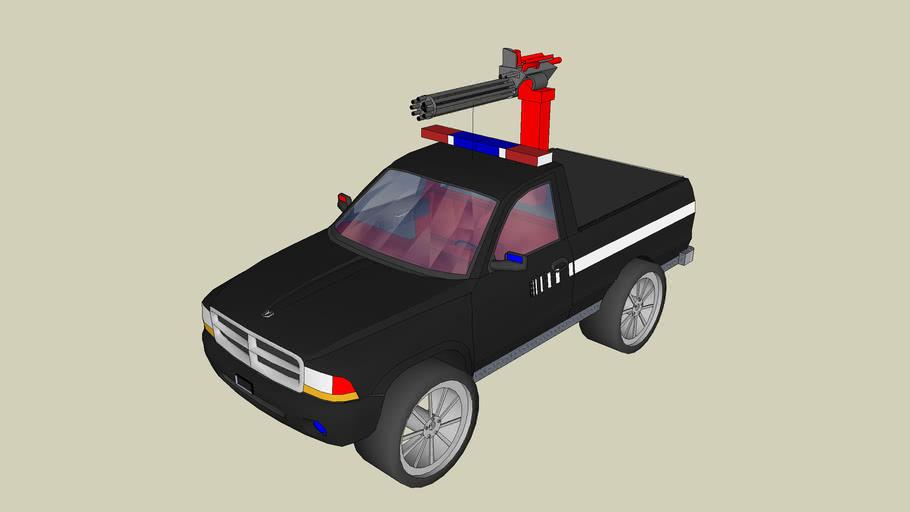 dodge 4x4 police truck