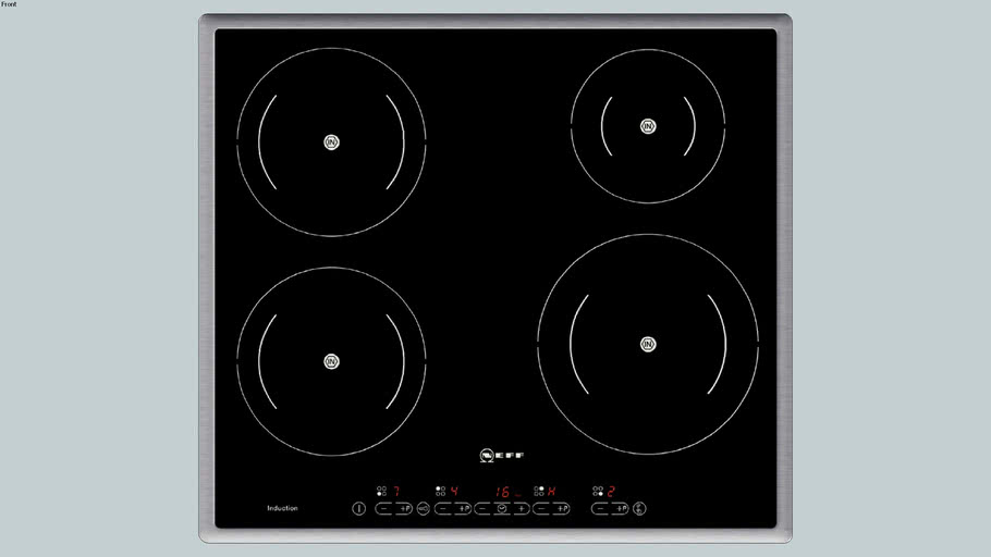 NEFF Vitrokeramische inductiekookplaat (60cm)  T43D20N1