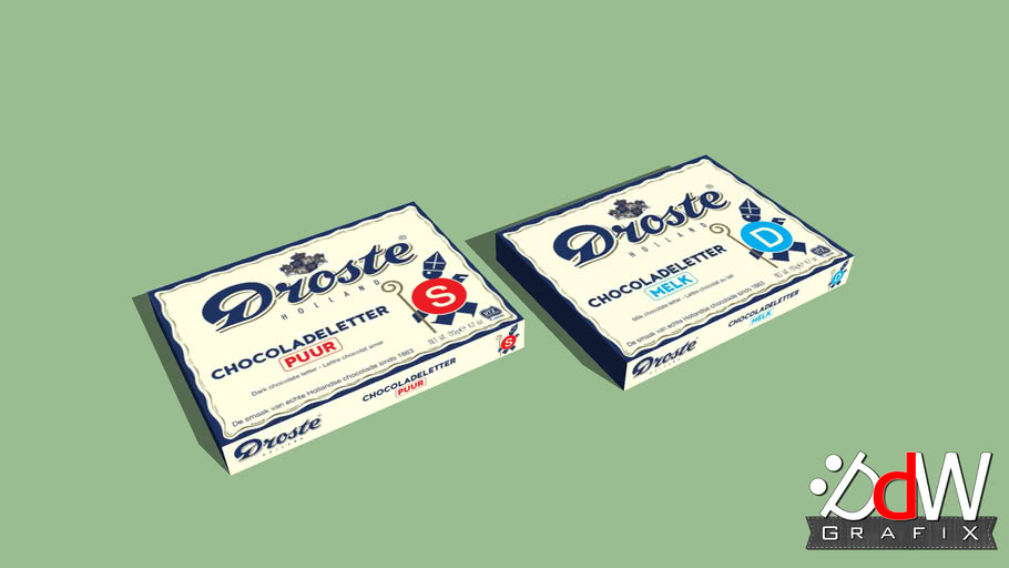Droste Chocoladeletters
