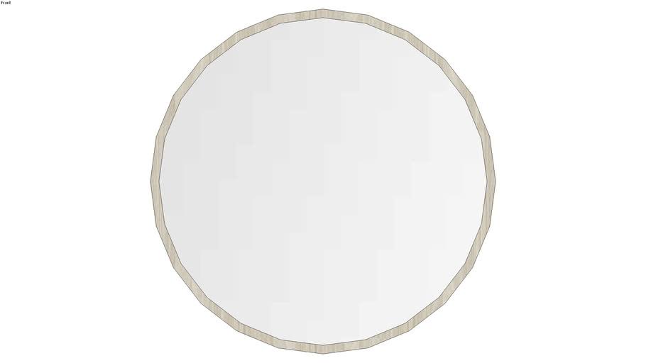 Oak Mirror 80cm