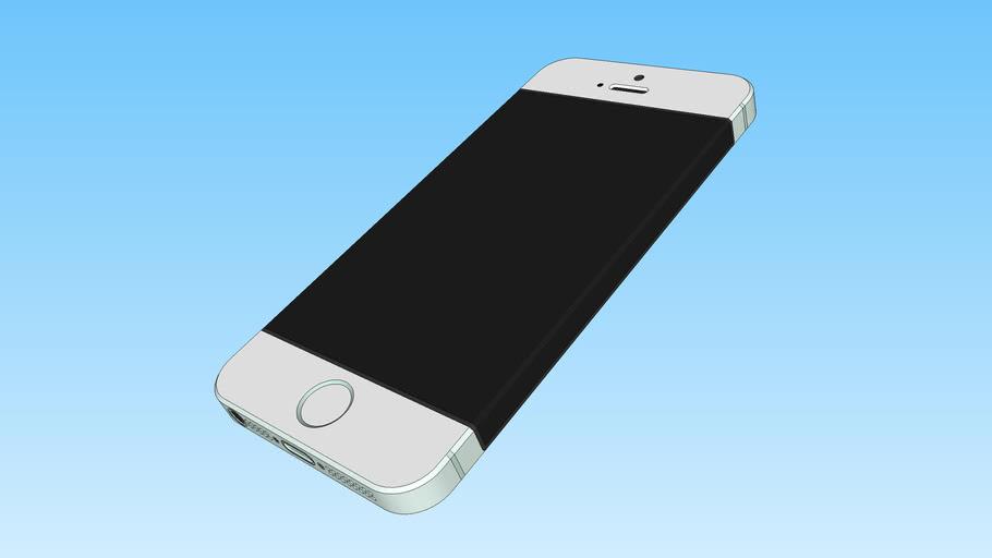 IPhone 5NG Or blanc (New Génération)