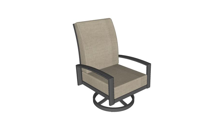 Lyndale Swivel Rocking Chair - Cast Ash