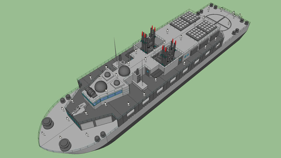 VNS Coastal Guard Frigate