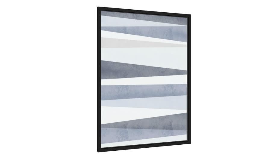Quadro Blue Lines - Galeria9, por Rachel Moya