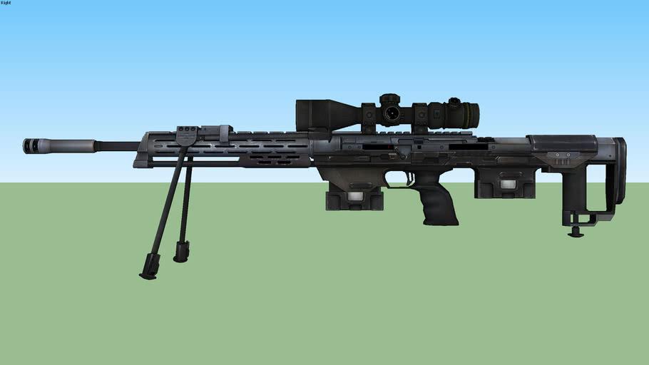 Sniper : Ghost Warrior 2 - DSR50
