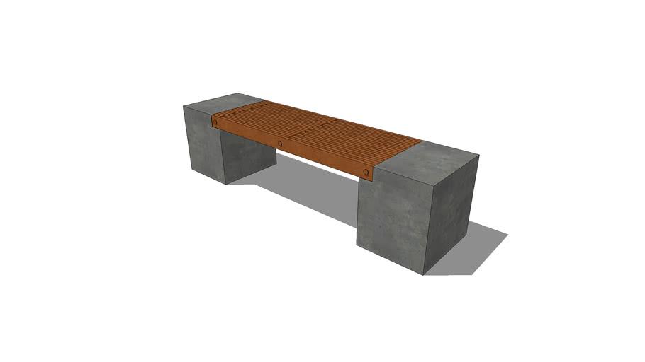 "HCD – 6'-0"" Cube Bench"