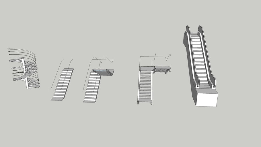 Stairs, Elevator