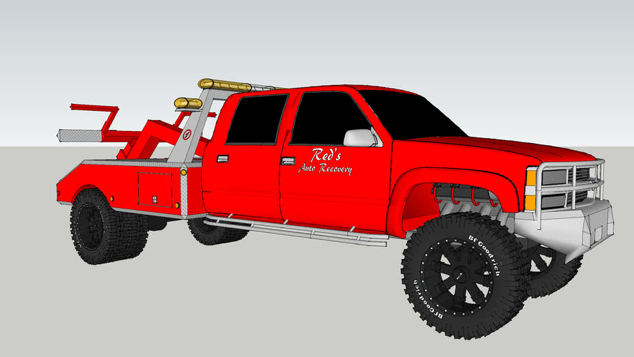 Chevy 3500 Crew Self-loader