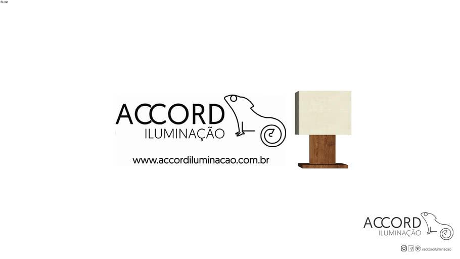 Abajur Accord Clean 1024