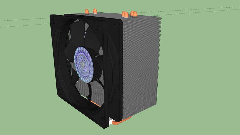 Cooler Master Hyper 212 Plus CPU cooler heatsink fan