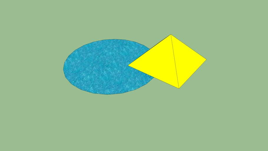 piramide met meer